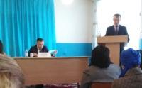 О проведении отчетных встреч перед населением сельского округа